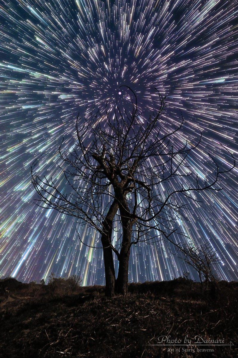 #2015年自分が選ぶ今年の4枚 #星空アート撮影技法の習得、初めての天の川撮影など思い出深い1年となりました! pic.twitter.com/sp0xNVDocX