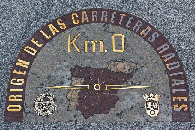 Tald acomohoy de 1856 se se ala el kil metro 0 de la for Kilometro 0 puerta del sol