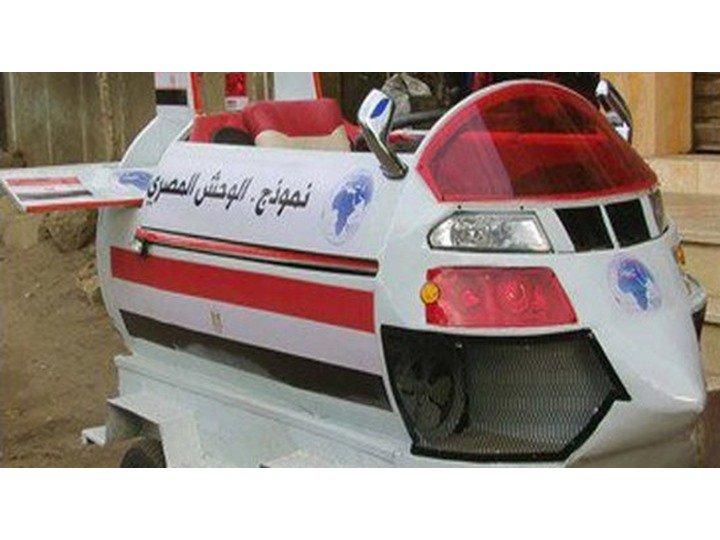 Egypt's Amazing Flying Car Is Bad At Both Flying And Being A Car