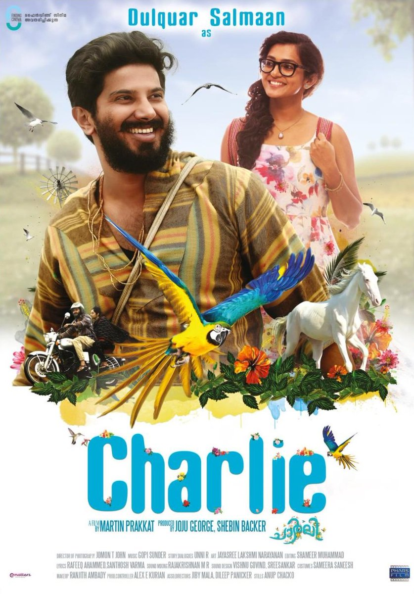 Charlie 2015 Malayalam 720p BRRip 800MB With Bangla Subtitle