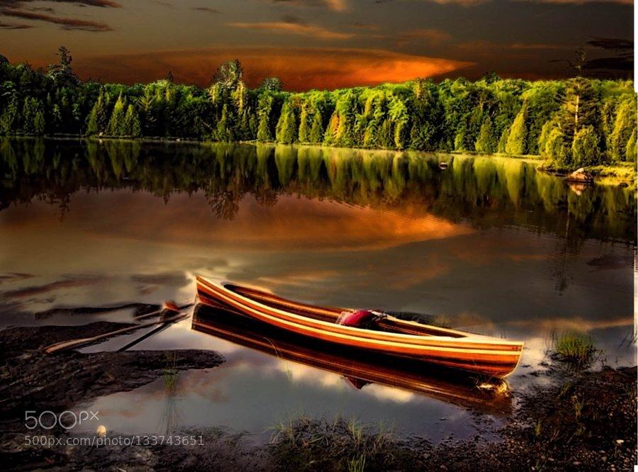#wallpaper #Popular on #500px : #__The Wood Canoe__ by @johncarr1520 http://ift.tt/1YHZOWW #dhardingsea