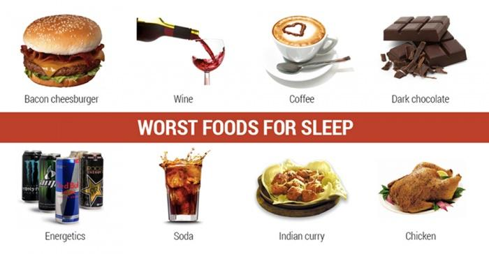 Best And Worst Foods To Eat Before Bed