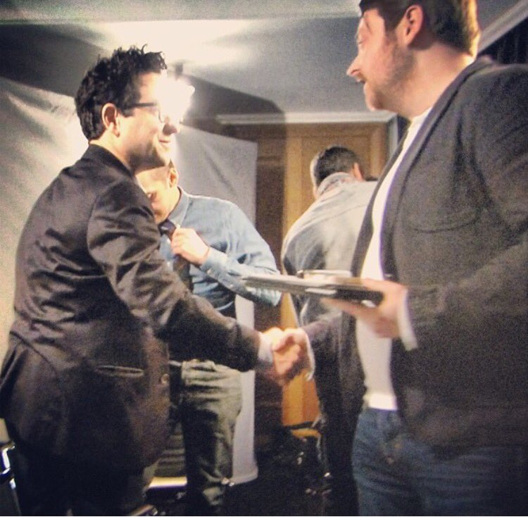 FACT. Just shaking #JJAbrams hand will cause a lens flare to occur... https://t.co/9oKrIGjwBI