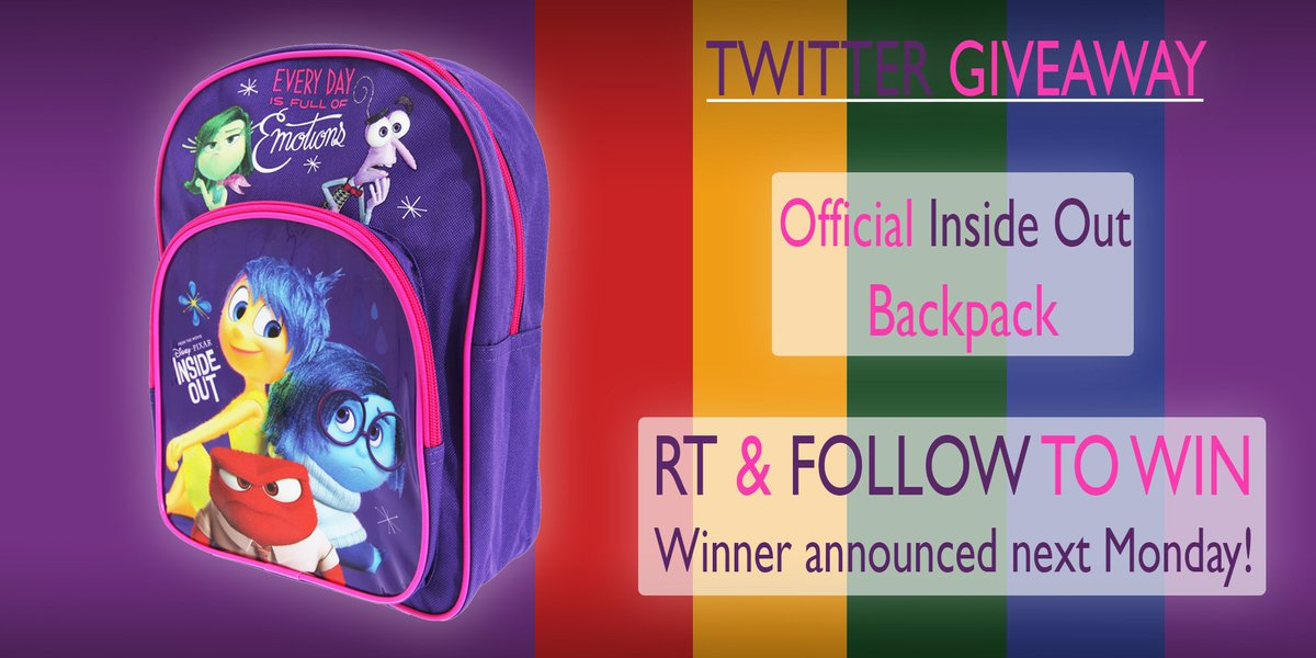 Hummush 2015-12-30 RT  jasondh153  candy clair0112 RT unitextiles    InsideOut official backpack  giveaway!  Follow  amp  RT to  win! Closes  4th Jan! 3df89373d28a4