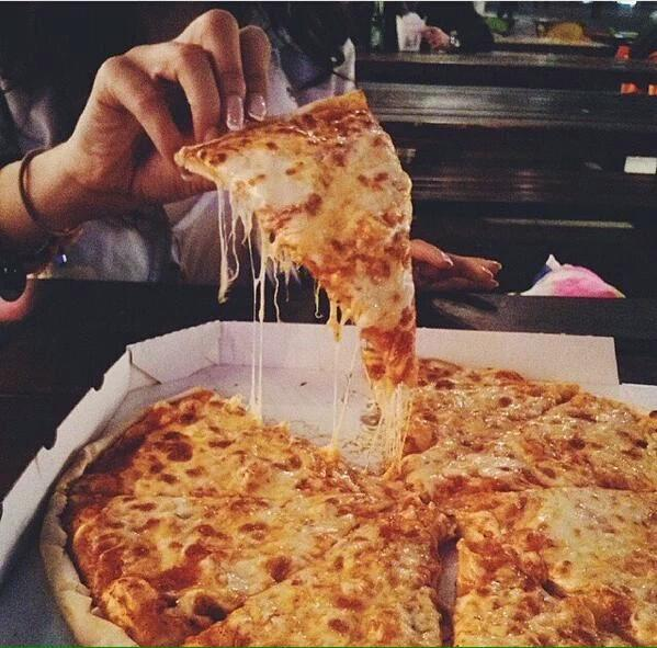 The key to my heart is flat and cheesy