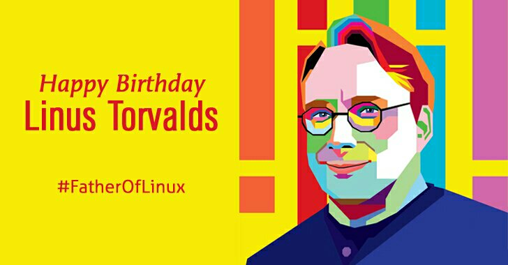 Happy Birthday #LinusTorvalds, father of #Linux :) (via @TheHackersNews) https://t.co/xRHmhuKgyk