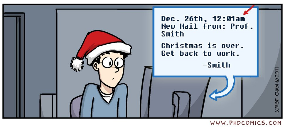 phd comics on twitter christmas is over httpstcoewaiwswcaa httpstcoao4j7bn01e - When Is Christmas Over