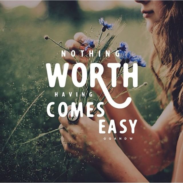 Nothing worth having comes easy.  #mondaymotivation https://t.co/igwEPawywE