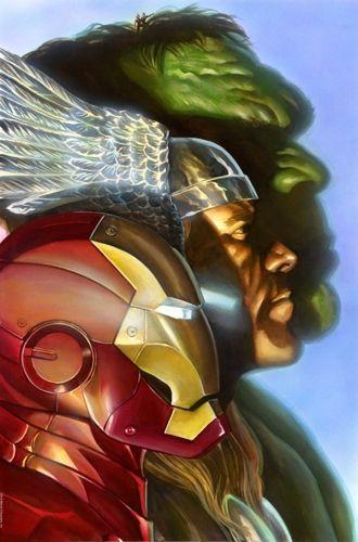 64011ea9f EL Twenty  2015-12-28 RT  comicbooktrade  Alex Ross  Iron Man