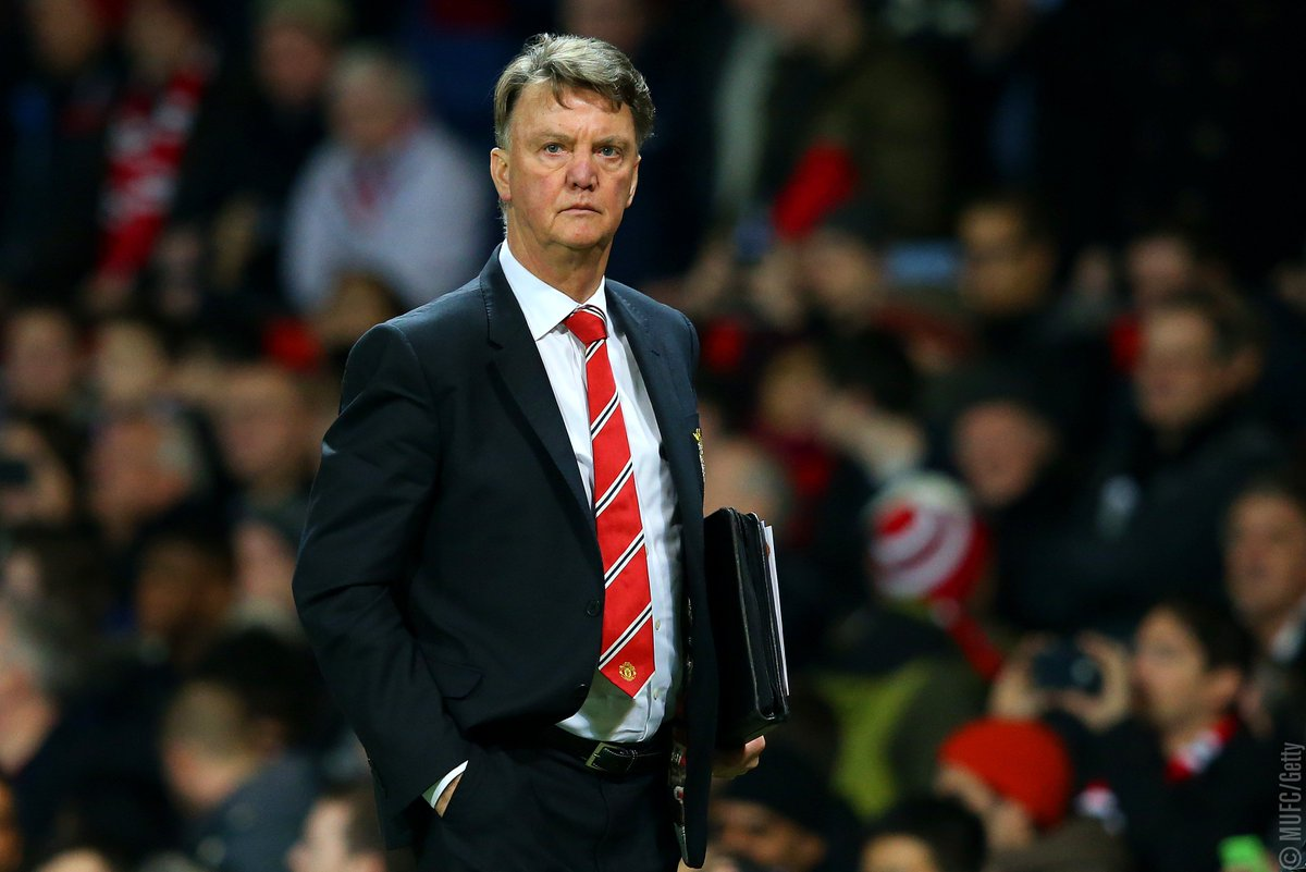 """Louis van Gaal: """"The players are fighting for me. It was a good performance but we didn't have the luck we needed."""""""