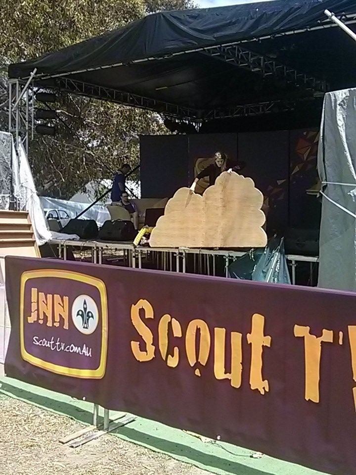 #ScoutTV and #JNN are getting ready. #AJ2016 #scouts https://t.co/okrvGDgl9o