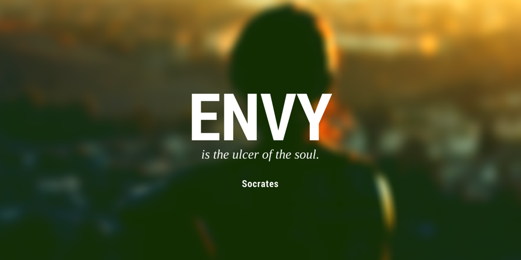 Envy Quotes Fascinating ThoughtFlame On Twitter Envy Is The Ulcer Of The Soul Socrates