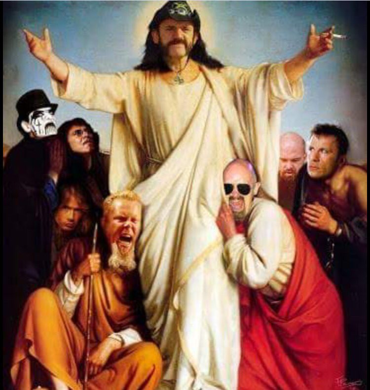 Sent to me by Rob Halford to share with all. More soon. RIP Lemmy. You will be missed! https://t.co/1DylChG3Qu