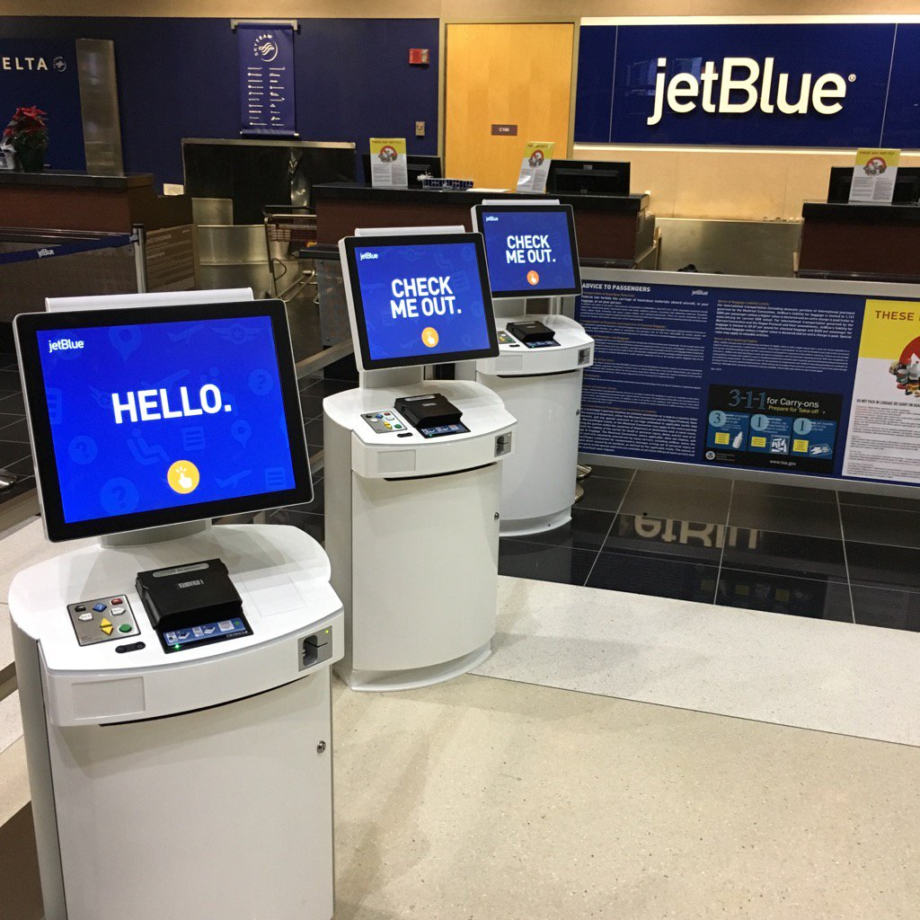 Our Customers in Albany will be some of the first to try out @JetBlue's new kiosks. Just the beginning! https://t.co/28MCISeGuO