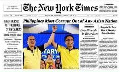 Image result for Philippines is the most corrupt
