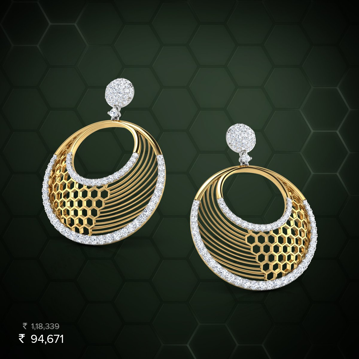 Caratlane Earrings Design