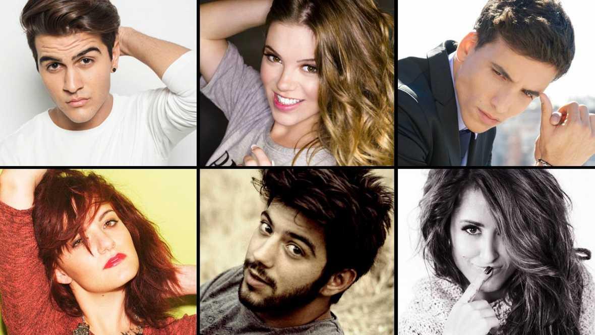 Los candidatos para representar a España en Eurovisión