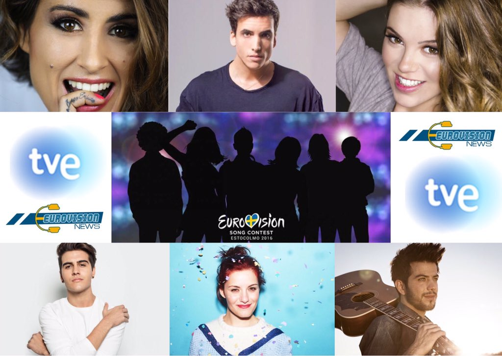 Los candidatos para representar a España en Eurovisión - 2