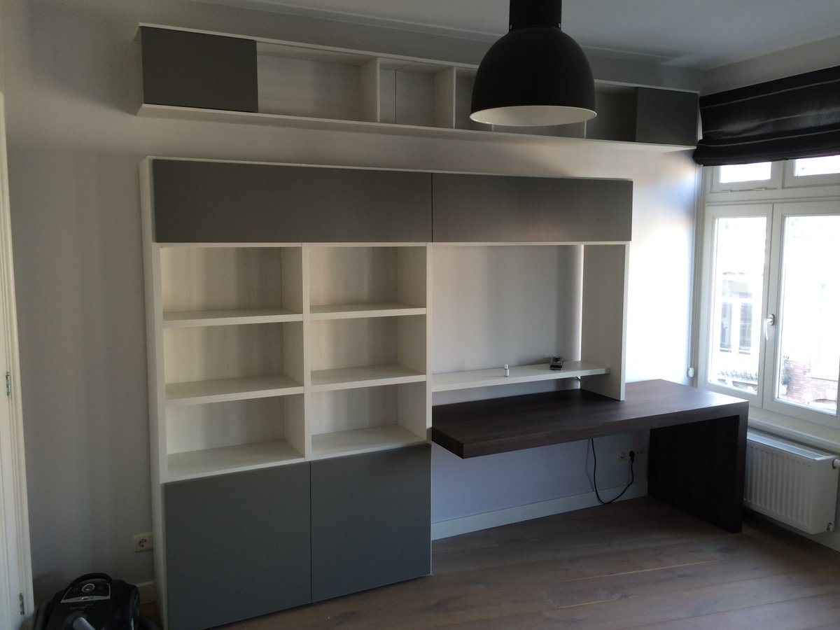 Wandmeubel Met Bureau.Nuance Kasten Deuren On Twitter Amsterdam Oud Zuid Wandmeubel