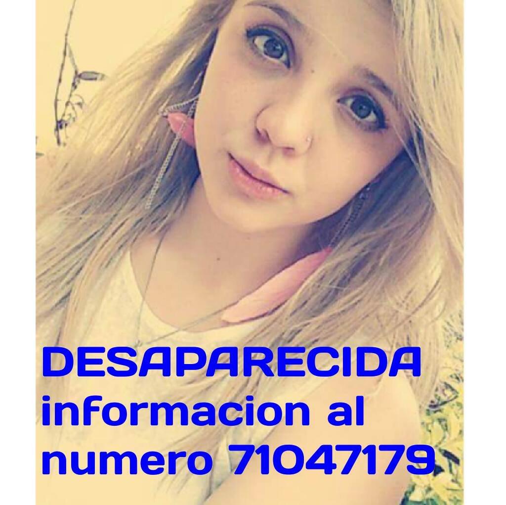 Chiquillos, esta muchacha es sobrina de mi amigo @UlloaRodolfo, por favor RT https://t.co/ugmq9wZy15