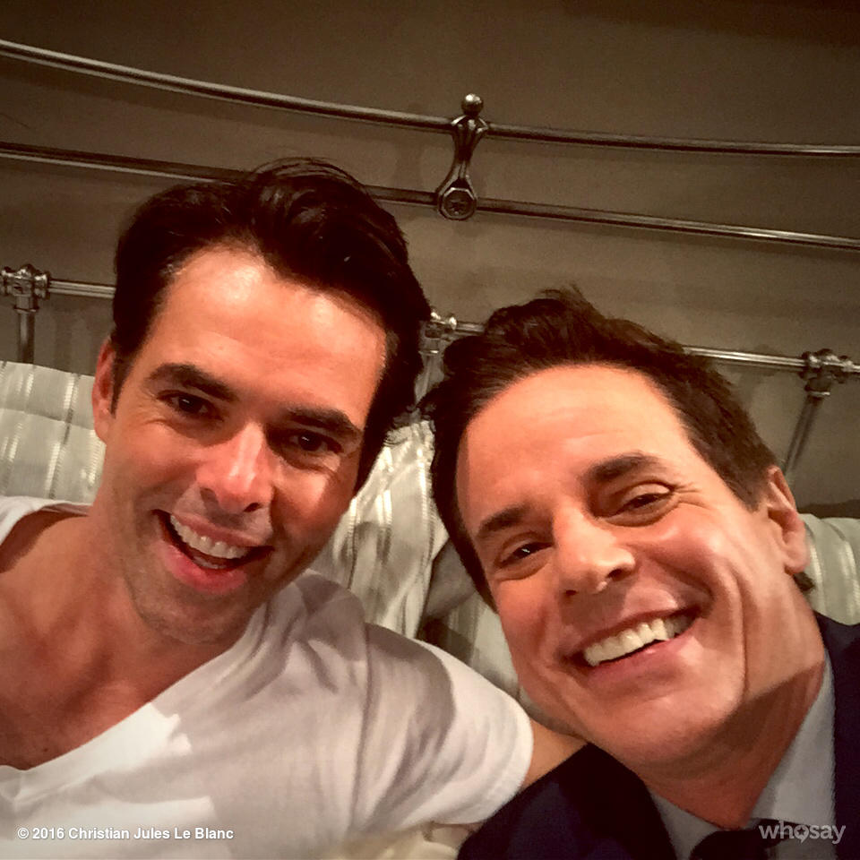 WITH THE NEW KID!!!! #AWESOME @MyJasonThompson #YR @YandR_CBS @YRInsider #YR #GH @CBSDaytime https://t.co/QHwNrJBR9a