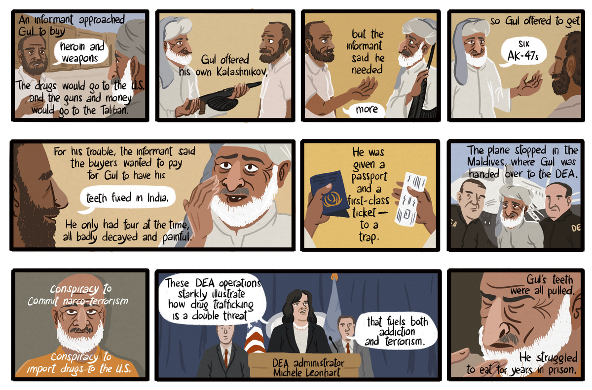 A set of interactive comics about shady DEA operations abroad, with @ProPublica https://t.co/ewG0WgkZfY https://t.co/wOB6nHfPeT