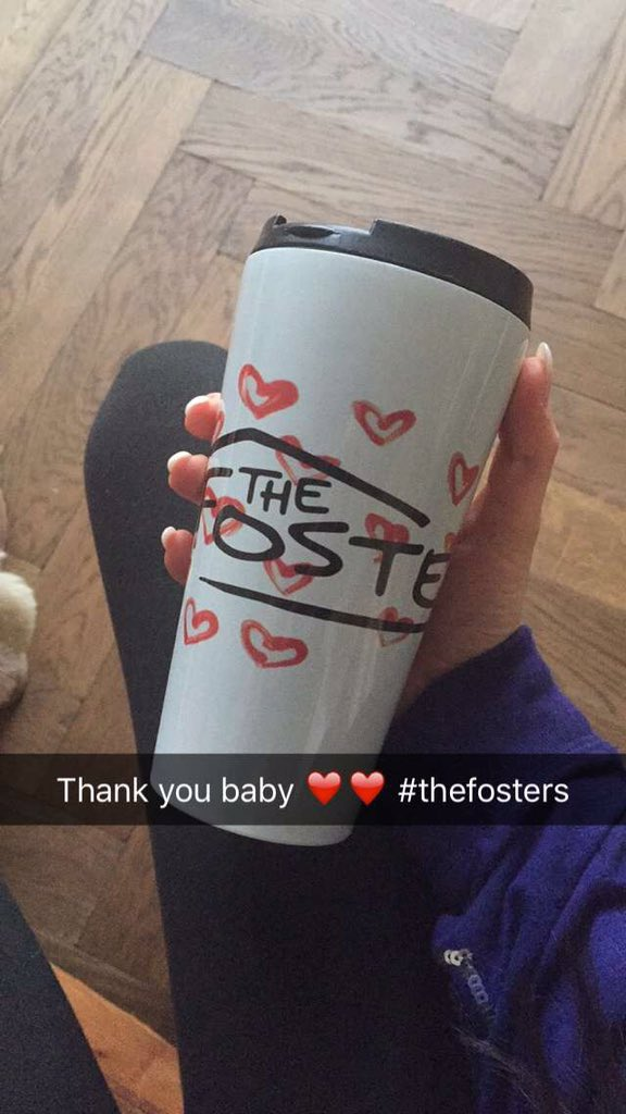Bestest xmas present ever, right? #TheFosters #coffeetogo https://t.co/tkJTiswDpn