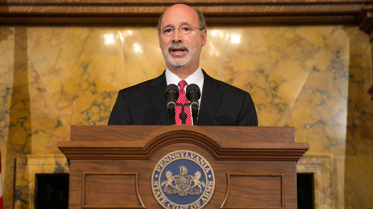 Thumbnail for Gov. Wolf's statement on #PAbudget draws reaction