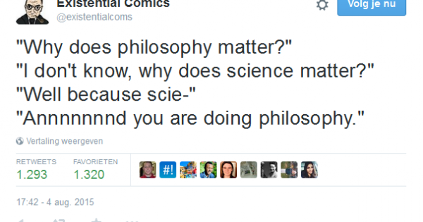 Why does philosophy matter?