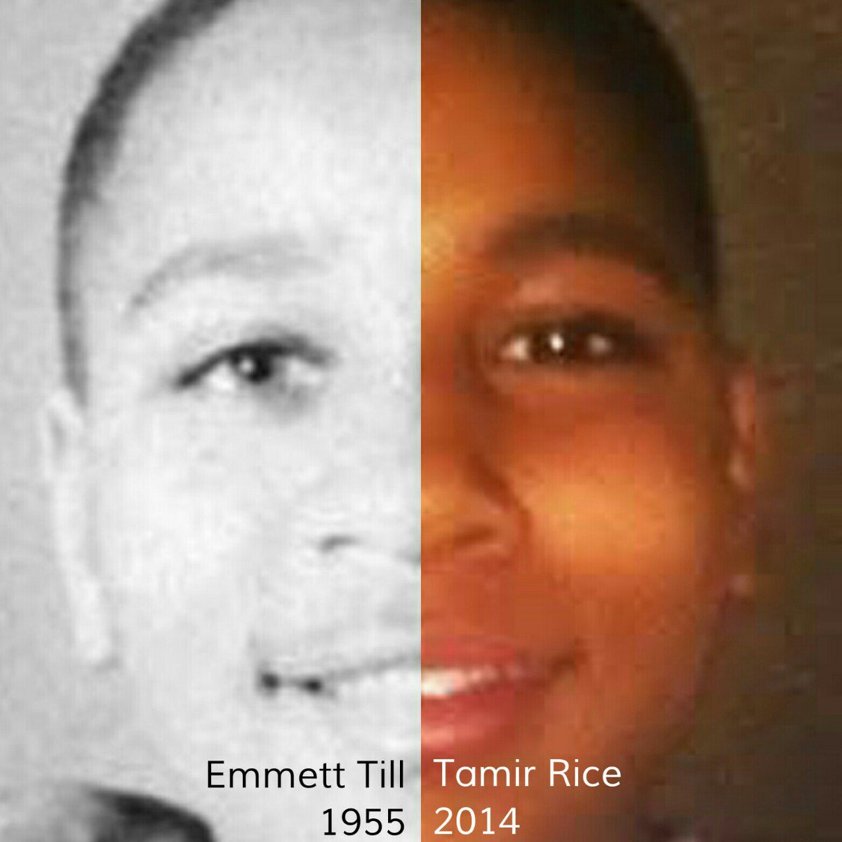 Amazing how history can come back to haunt us ... #EmmettTill #TamirRice https://t.co/mhXpL6iWU9