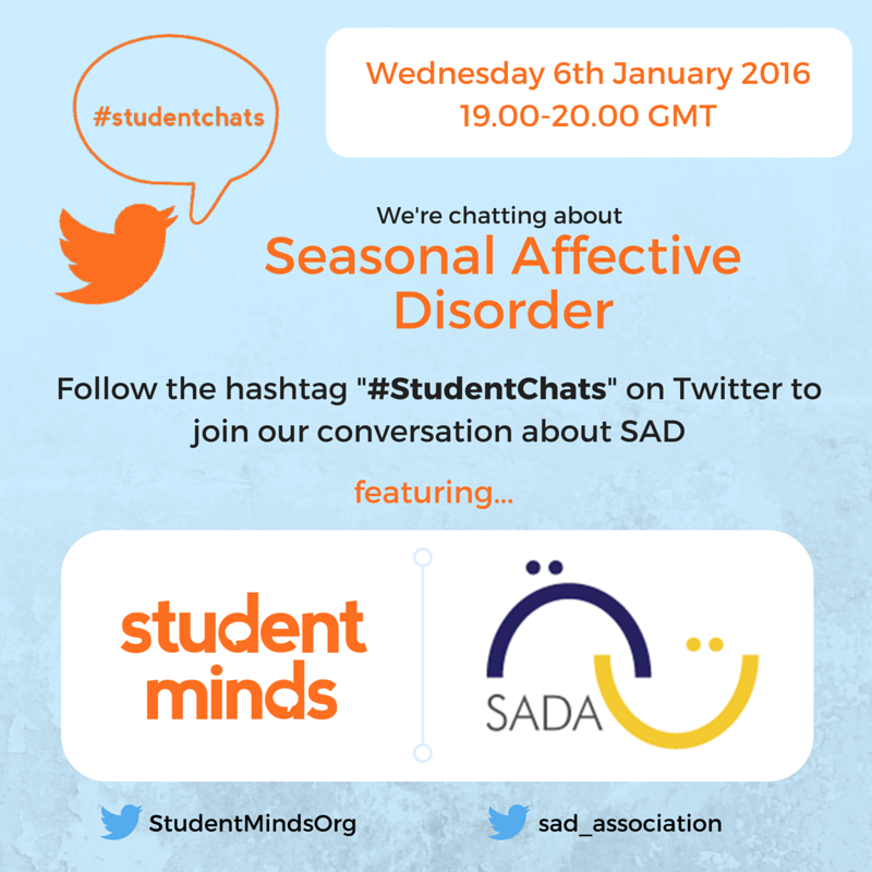 Thumbnail for #StudentChats Jan '16 - Seasonal Affective Disorder (with SADA)