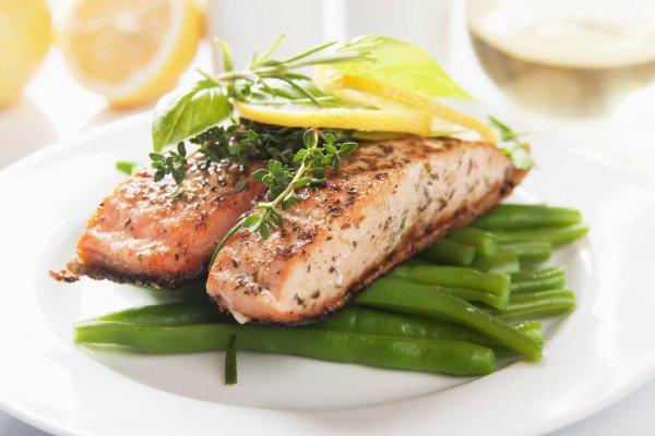 Красная жареная рыба рецепт