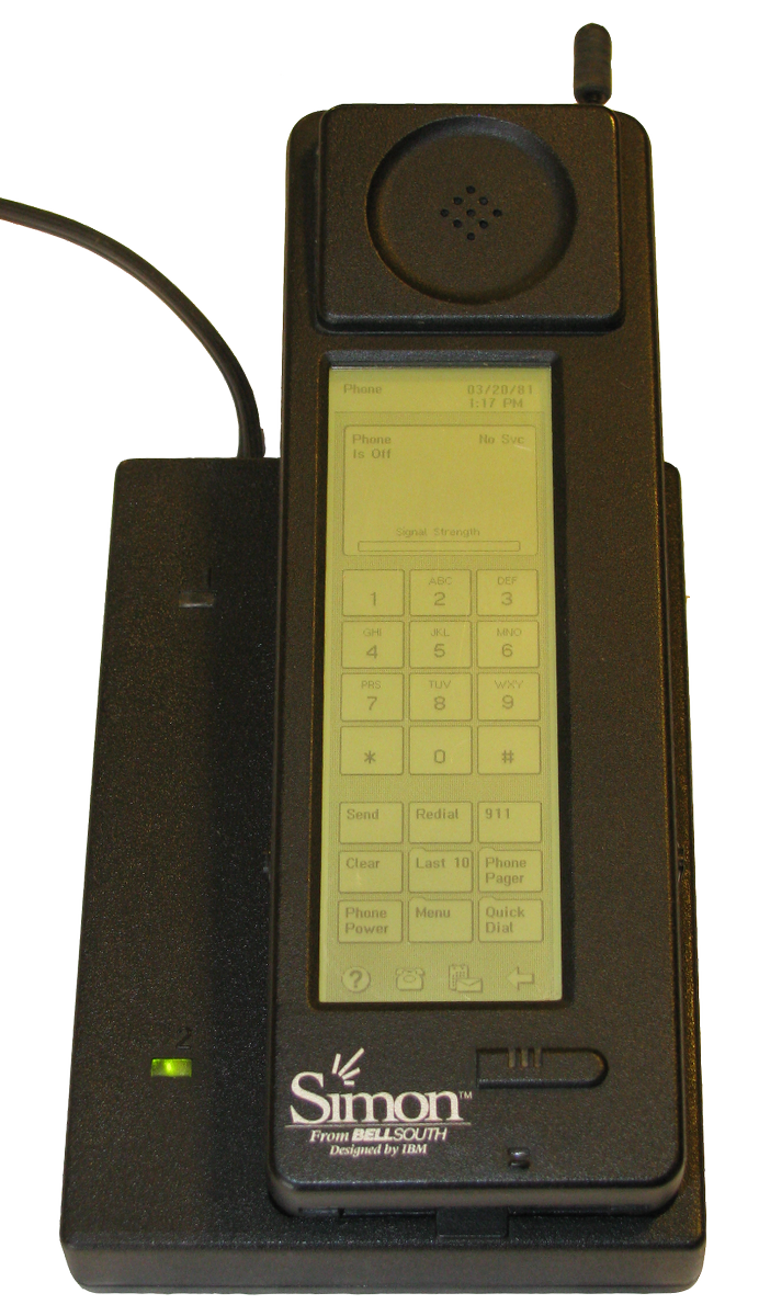 #Tech Savvy #Tuesday - In 1993, BellSouth #Cellular launched SIMON, the world's first #smartphone designed by #IBM https://t.co/MljJuWjwyv