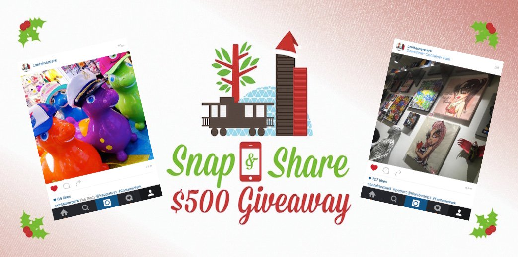 Your chance to WIN $500 in @DTContainerPark bucks. See how: https://t.co/qCxpTmNlDj #Contest ends 12/31. #dtlv https://t.co/EAxox0wbDb