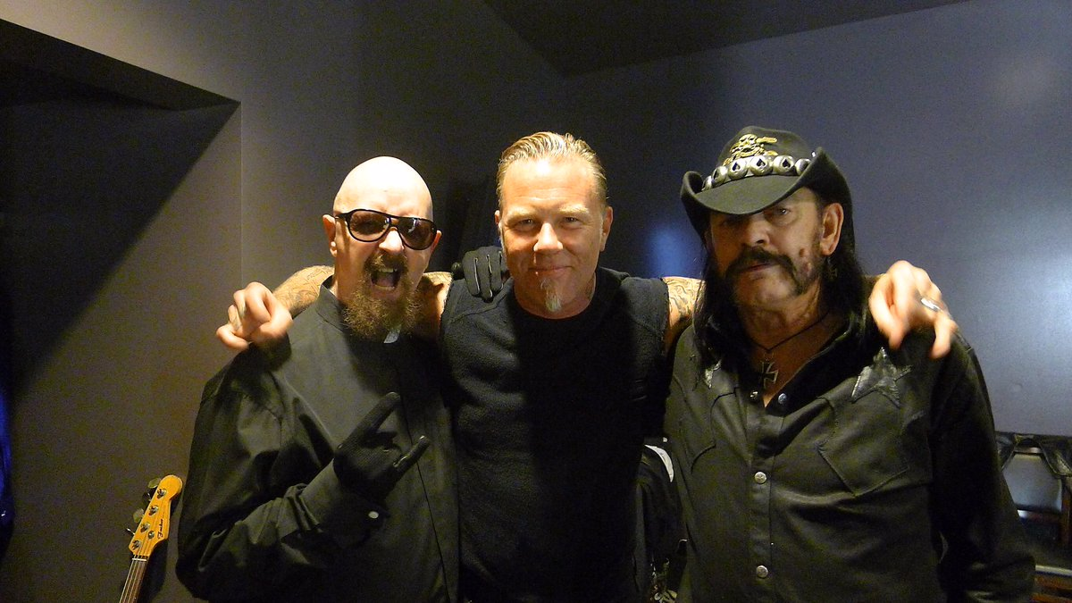Lemmy IS rock and roll and will forever be. - JH