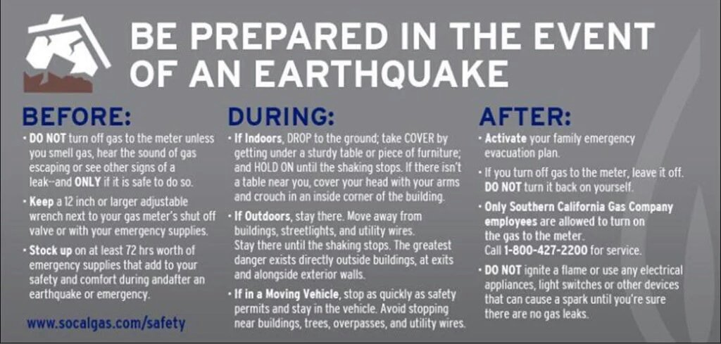 Earthquake Disaster Preparedness - Are You Ready Los Angeles County ? https://t.co/dLorncxhzR #LAquake https://t.co/utKTQmB6xF
