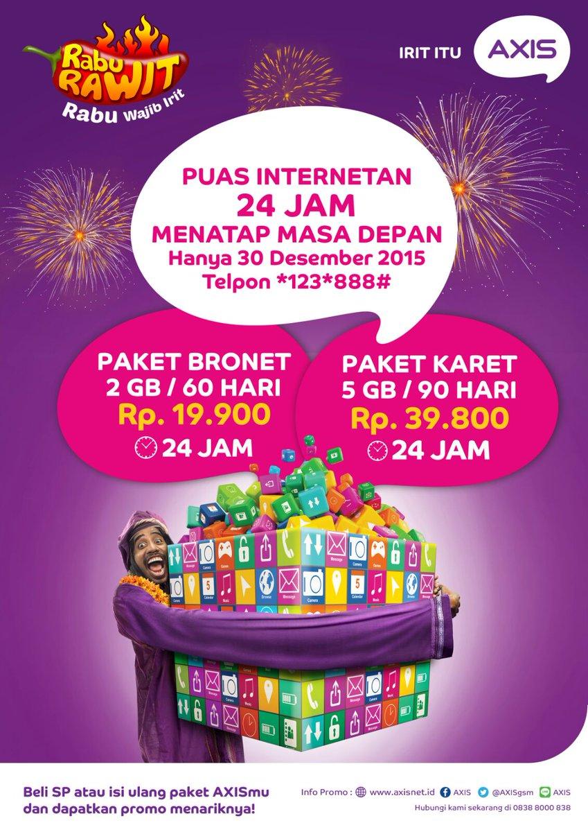 Myxl Jogja On Twitter Rawit Axis Dapatkan Promo Special Paket Akhir Tahun Bronet 2gb Cm 20k Dan Karet 5gb 40k 24 Jam 30 Hari