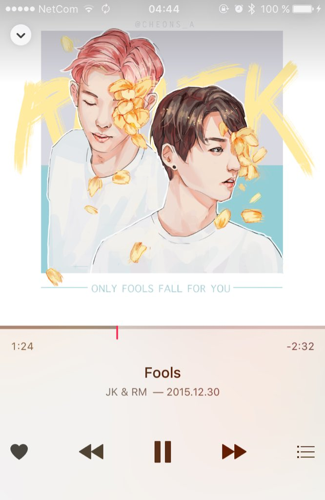 DL] BTS Namjoon (Rap Monster) & Jungkook - Fools cover. MP3 download ...