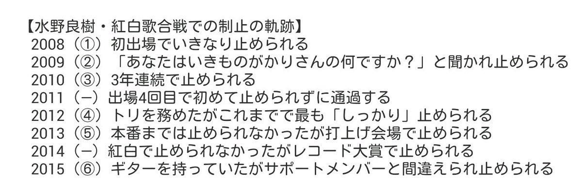 【水野良樹・紅白歌合戦での制止の軌跡】 https://t.co/DtZFCnaR6Z