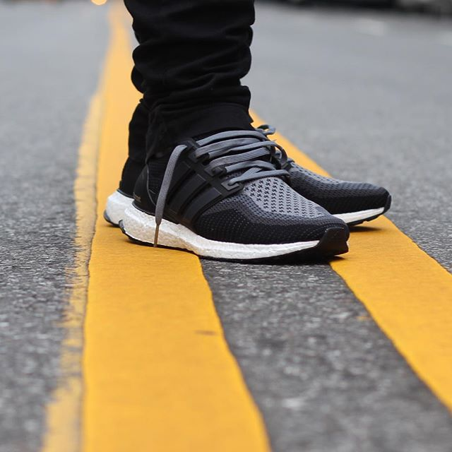 Adidas Ultra Boost On Feet Black