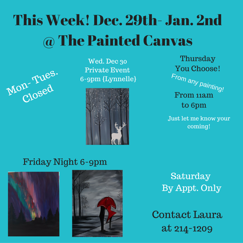 the painted canvas grouppaint twitter