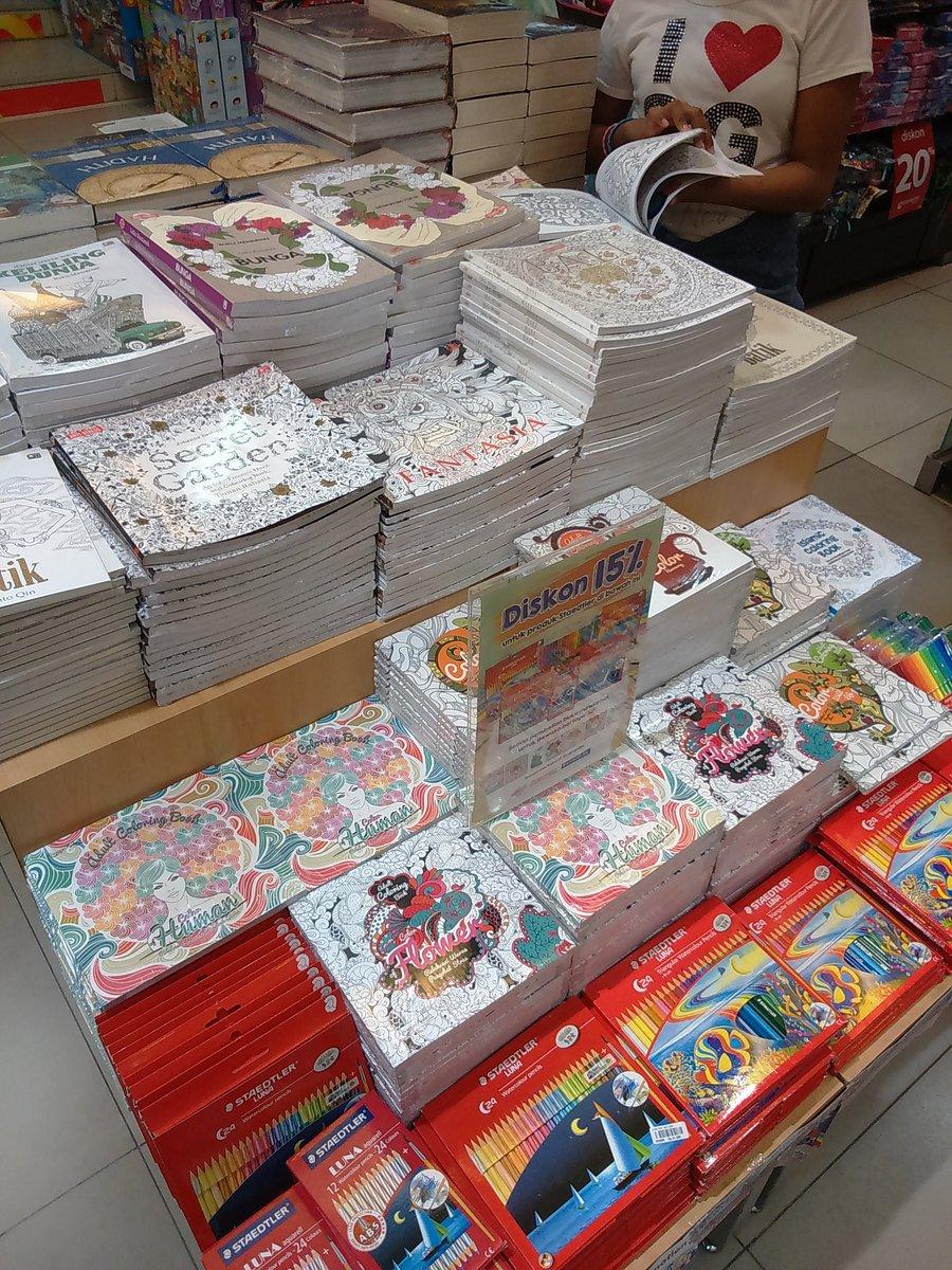 Gramedia Balikpapan On Twitter Coloring Book For Adult Di Mkin Lengkap Nih Yuk Lengkapi Juga Koleksi Kalian Tco 3kUapMbmpC