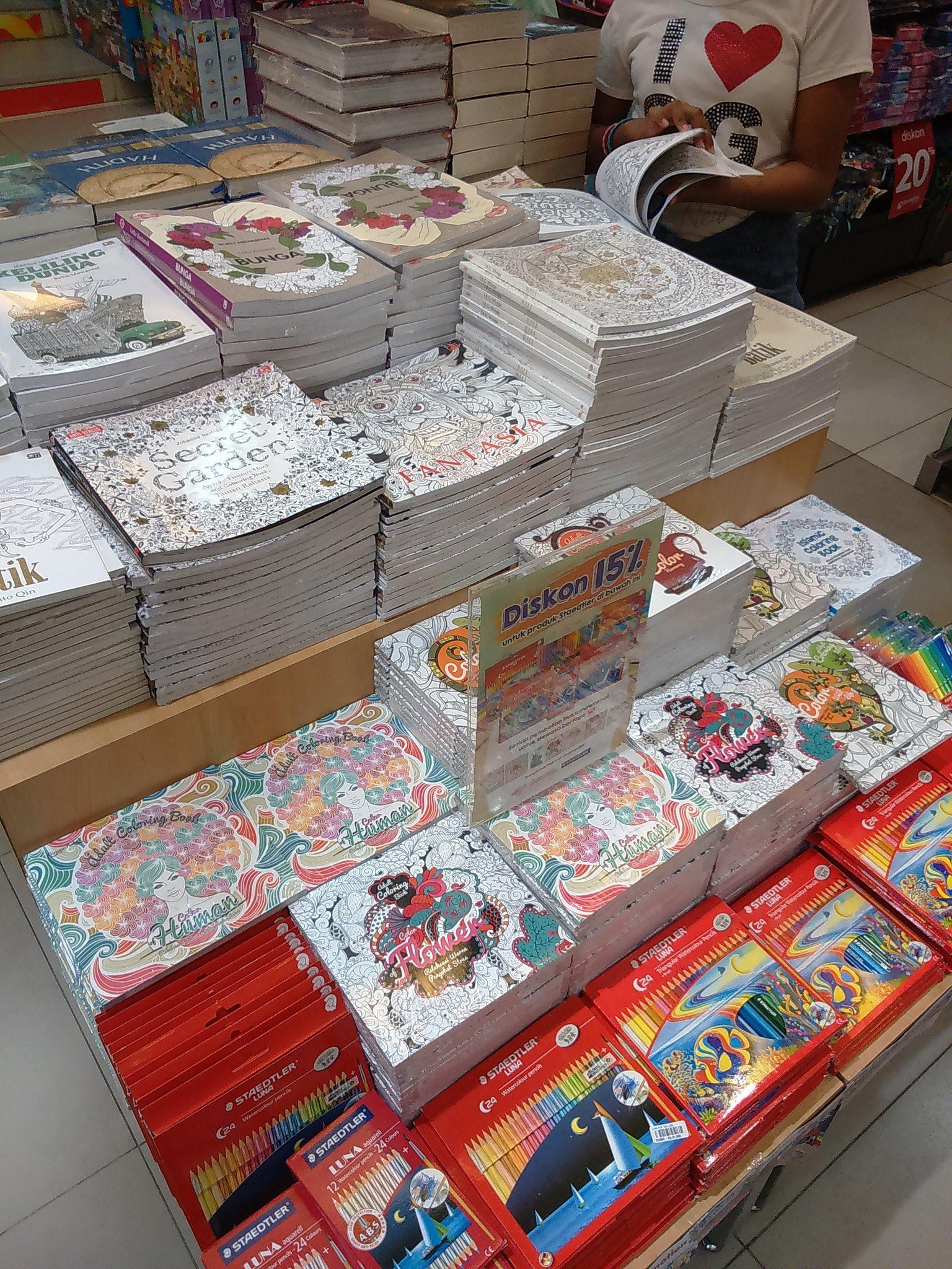 Gramedia Balikpapan On Twitter Coloring Book For Adult Di Mkin Lengkap Nih Yuk Lengkapi Juga Koleksi