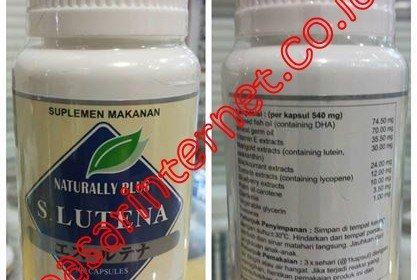 S Lutena Suplement Vitamin Dan Herbal Untuk Kesehatan Mata