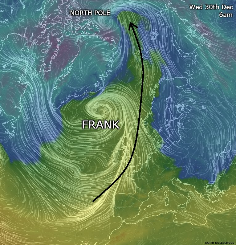 North Pole Temperature Jumps Above Freezing From Bizarre Storms