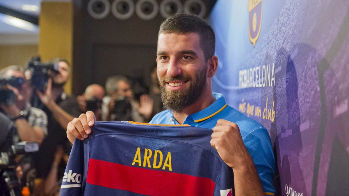 8fce5f51791 Arda Turan will wear the number 7 shirt at Barcelona previously worn by  Pedro