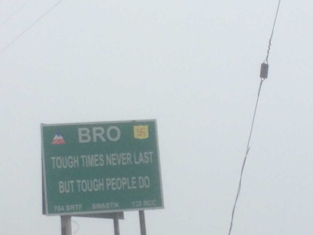 2015 was rough but here's some tender advice from the indian border roads organisation aka BRO: https://t.co/x6dbYjv3A0
