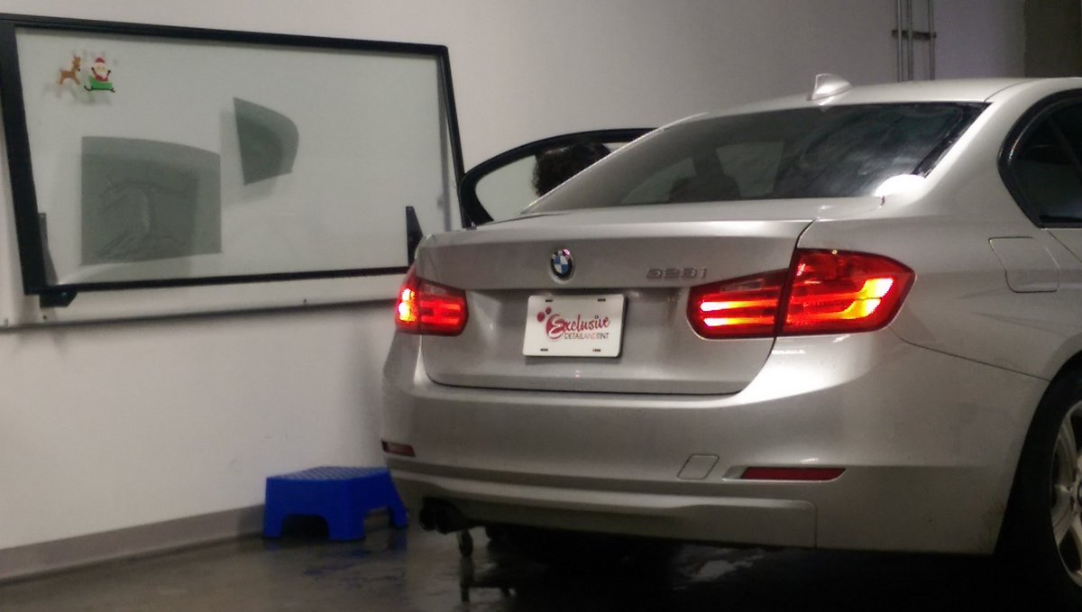 Legal Tint In Nc >> Exclusivedetail On Twitter Finishing Up The Installation
