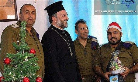 Israeli Christian-Arab Soldiers CelebrateChristmas https://t.co/LZw4tAOJ6v https://t.co/R6HyQY7k5I