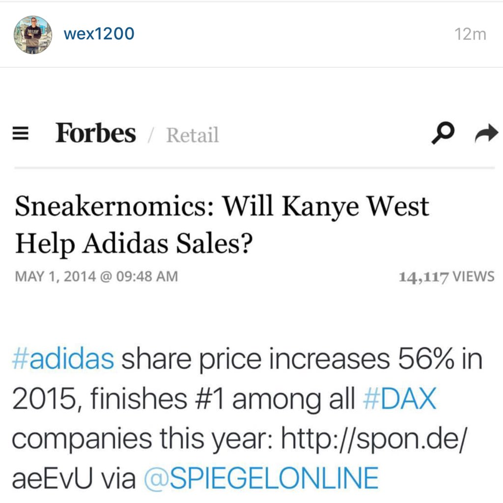 Shout out to @adidasUS & @wex1200 for proving haters wrong! https://t.co/goB4Cd0Y1E